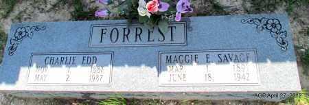 FORREST, CHARLIE EDD - Bradley County, Arkansas | CHARLIE EDD FORREST - Arkansas Gravestone Photos
