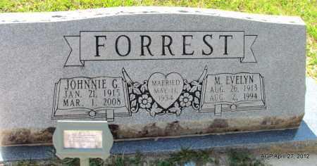 FORREST, MAGGIE EVELYN - Bradley County, Arkansas | MAGGIE EVELYN FORREST - Arkansas Gravestone Photos