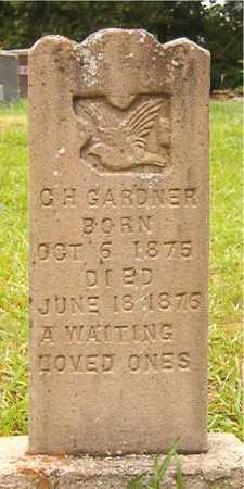 GARDNER, C H - Bradley County, Arkansas | C H GARDNER - Arkansas Gravestone Photos