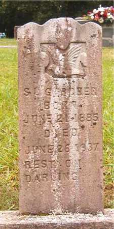 GARDNER, S D - Bradley County, Arkansas | S D GARDNER - Arkansas Gravestone Photos