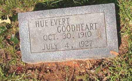 GOODHEART, HUE EVERT - Bradley County, Arkansas   HUE EVERT GOODHEART - Arkansas Gravestone Photos