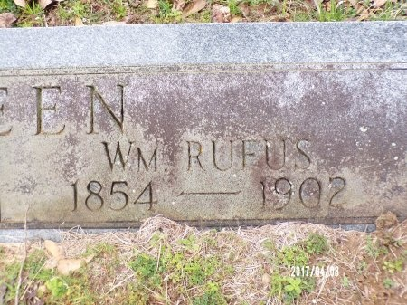 GREEN, WILLIAM RUFUS (CLOSE UP) - Bradley County, Arkansas   WILLIAM RUFUS (CLOSE UP) GREEN - Arkansas Gravestone Photos