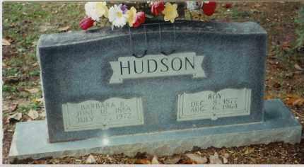 HUDSON, ROY W. - Bradley County, Arkansas | ROY W. HUDSON - Arkansas Gravestone Photos