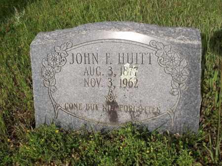 HUITT, JOHN FRANKLIN - Bradley County, Arkansas | JOHN FRANKLIN HUITT - Arkansas Gravestone Photos