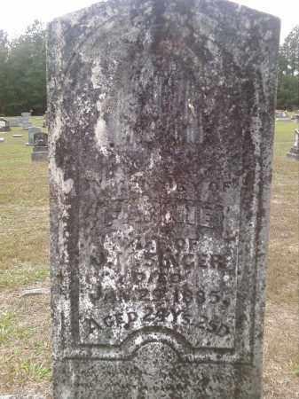 SINGER, FANNIE - Bradley County, Arkansas   FANNIE SINGER - Arkansas Gravestone Photos