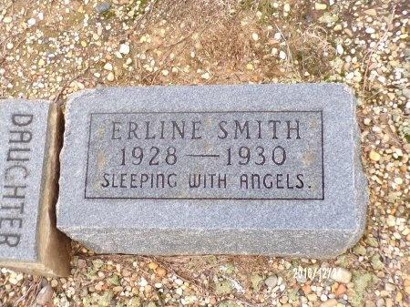 SMITH, ERLINE - Bradley County, Arkansas   ERLINE SMITH - Arkansas Gravestone Photos