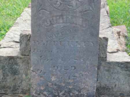TURNEY, JULIA A. - Bradley County, Arkansas | JULIA A. TURNEY - Arkansas Gravestone Photos