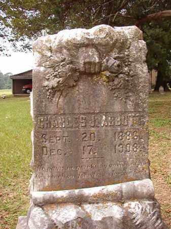 ABBOTT, CHARLES J - Calhoun County, Arkansas | CHARLES J ABBOTT - Arkansas Gravestone Photos