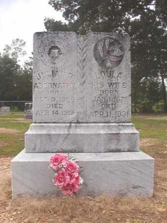 ABERNATHY, JULIAN R - Calhoun County, Arkansas | JULIAN R ABERNATHY - Arkansas Gravestone Photos