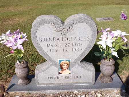 ABLES, BRENDA LOU - Calhoun County, Arkansas   BRENDA LOU ABLES - Arkansas Gravestone Photos