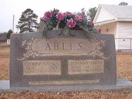 ABLES, JOHNNY AMOS - Calhoun County, Arkansas | JOHNNY AMOS ABLES - Arkansas Gravestone Photos