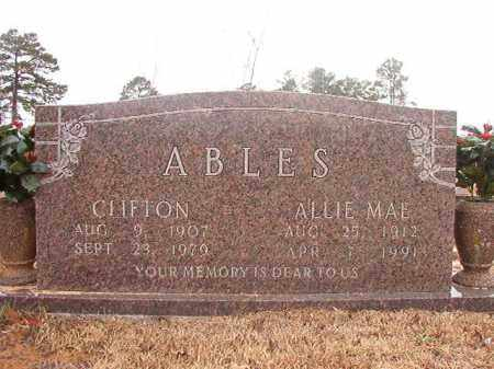 ABLES, CLIFTON - Calhoun County, Arkansas | CLIFTON ABLES - Arkansas Gravestone Photos