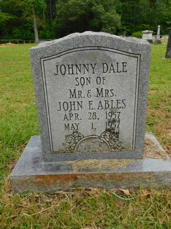 ABLES, JOHNNY DALE - Calhoun County, Arkansas | JOHNNY DALE ABLES - Arkansas Gravestone Photos
