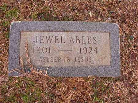 ABLES, JEWEL - Calhoun County, Arkansas | JEWEL ABLES - Arkansas Gravestone Photos