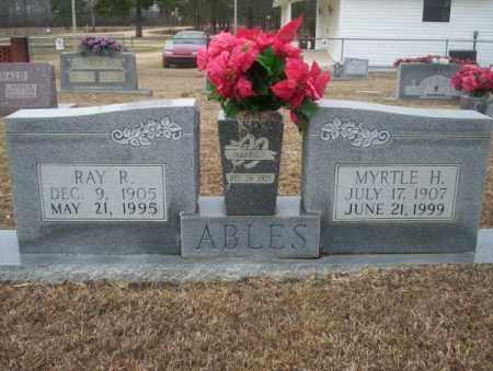 ABLES, MYRTLE - Calhoun County, Arkansas   MYRTLE ABLES - Arkansas Gravestone Photos