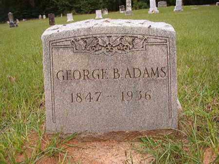 ADAMS, GEORGE B - Calhoun County, Arkansas | GEORGE B ADAMS - Arkansas Gravestone Photos