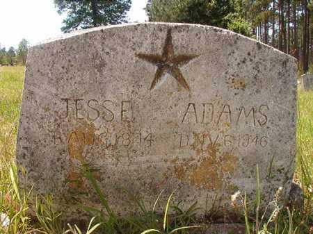 ADAMS, JESSE - Calhoun County, Arkansas   JESSE ADAMS - Arkansas Gravestone Photos
