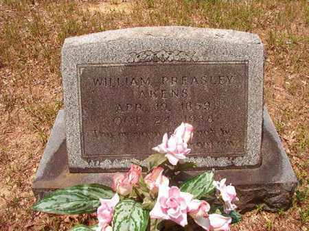 AKENS, WILLIAM PREASLEY - Calhoun County, Arkansas | WILLIAM PREASLEY AKENS - Arkansas Gravestone Photos