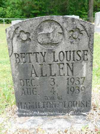 ALLEN, BETTY LOUISE - Calhoun County, Arkansas | BETTY LOUISE ALLEN - Arkansas Gravestone Photos