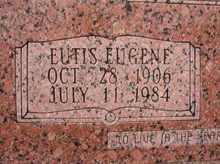 ALLEN, EUTIS EUGENE (CLOSEUP) - Calhoun County, Arkansas   EUTIS EUGENE (CLOSEUP) ALLEN - Arkansas Gravestone Photos