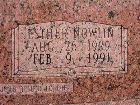 ALLEN, ESTHER (CLOSEUP) - Calhoun County, Arkansas | ESTHER (CLOSEUP) ALLEN - Arkansas Gravestone Photos