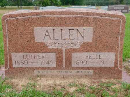 ALLEN, BELLE - Calhoun County, Arkansas | BELLE ALLEN - Arkansas Gravestone Photos