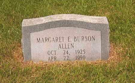 ALLEN, MARGARET E - Calhoun County, Arkansas | MARGARET E ALLEN - Arkansas Gravestone Photos