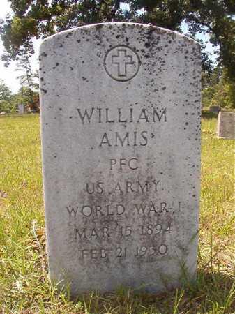 AMIS (VETERAN WWI), WILLIAM - Calhoun County, Arkansas   WILLIAM AMIS (VETERAN WWI) - Arkansas Gravestone Photos