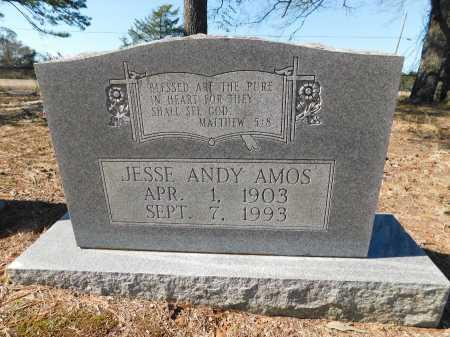 AMOS, JESSE ANDY - Calhoun County, Arkansas   JESSE ANDY AMOS - Arkansas Gravestone Photos