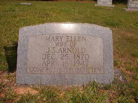 ARNOLD, MARY ELLEN - Calhoun County, Arkansas   MARY ELLEN ARNOLD - Arkansas Gravestone Photos