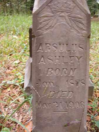 ASHLEY, ARSULUS - Calhoun County, Arkansas | ARSULUS ASHLEY - Arkansas Gravestone Photos