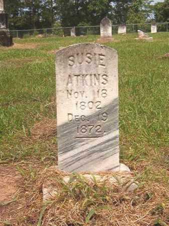 ATKINS, SUSIE - Calhoun County, Arkansas | SUSIE ATKINS - Arkansas Gravestone Photos