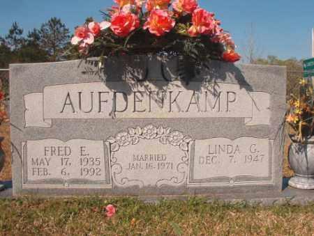 AUFDENKAMP, FRED E - Calhoun County, Arkansas   FRED E AUFDENKAMP - Arkansas Gravestone Photos
