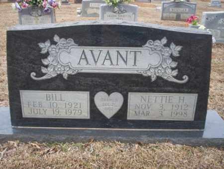 AVANT, NETTIE H - Calhoun County, Arkansas   NETTIE H AVANT - Arkansas Gravestone Photos