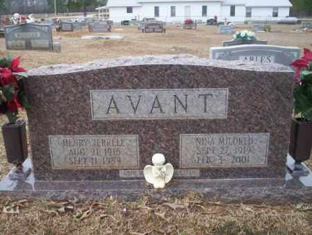AVANT, NINA MILDRED - Calhoun County, Arkansas   NINA MILDRED AVANT - Arkansas Gravestone Photos