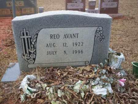 AVANT, REO - Calhoun County, Arkansas   REO AVANT - Arkansas Gravestone Photos