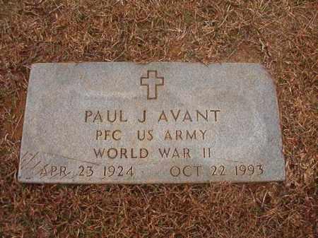 AVANT (VETERAN WWII), PAUL J - Calhoun County, Arkansas | PAUL J AVANT (VETERAN WWII) - Arkansas Gravestone Photos