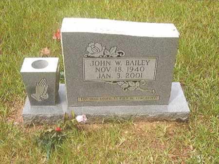 BAILEY, JOHN W - Calhoun County, Arkansas   JOHN W BAILEY - Arkansas Gravestone Photos
