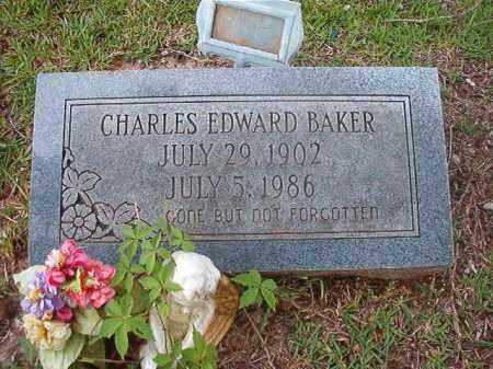 BAKER, CHARLES EDWARD - Calhoun County, Arkansas | CHARLES EDWARD BAKER - Arkansas Gravestone Photos