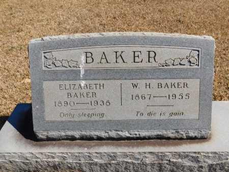 BAKER, W H - Calhoun County, Arkansas | W H BAKER - Arkansas Gravestone Photos