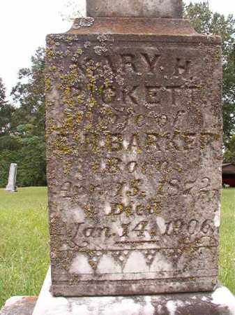 BARKER, MARY H - Calhoun County, Arkansas | MARY H BARKER - Arkansas Gravestone Photos