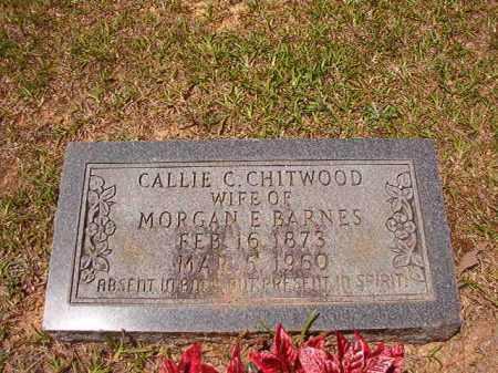BARNES, CALLIE C - Calhoun County, Arkansas | CALLIE C BARNES - Arkansas Gravestone Photos