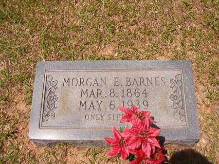 BARNES, MORGAN EDWARD - Calhoun County, Arkansas | MORGAN EDWARD BARNES - Arkansas Gravestone Photos