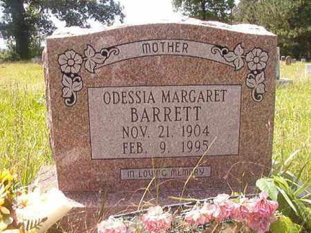 BARRETT, ODESSIA MARGARET - Calhoun County, Arkansas | ODESSIA MARGARET BARRETT - Arkansas Gravestone Photos
