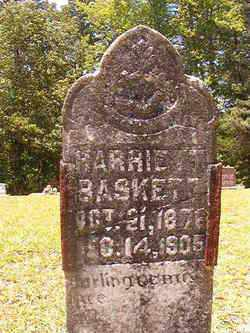 BASKETT, HARRIETT - Calhoun County, Arkansas | HARRIETT BASKETT - Arkansas Gravestone Photos