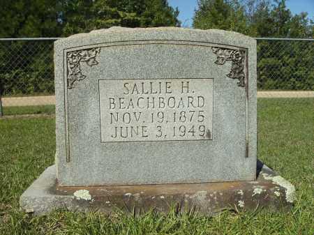 BEACHBOARD, SALLIE H - Calhoun County, Arkansas   SALLIE H BEACHBOARD - Arkansas Gravestone Photos