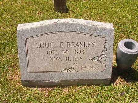 BEASLEY, LOUIE E - Calhoun County, Arkansas | LOUIE E BEASLEY - Arkansas Gravestone Photos