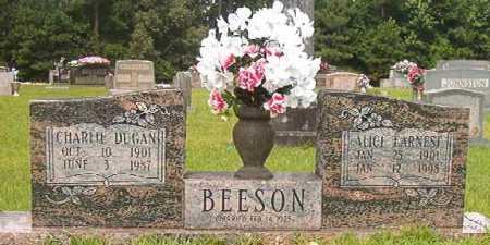 BEESON, CHARLIE DUGAN - Calhoun County, Arkansas | CHARLIE DUGAN BEESON - Arkansas Gravestone Photos