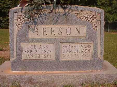 BEESON, JOE ABB - Calhoun County, Arkansas | JOE ABB BEESON - Arkansas Gravestone Photos