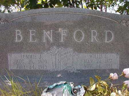 BENFORD, WILLIS L - Calhoun County, Arkansas | WILLIS L BENFORD - Arkansas Gravestone Photos